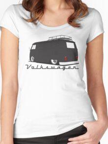 Volkswagen Bus-Dark Women's Fitted Scoop T-Shirt
