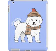 Bichon Freezing! iPad Case/Skin