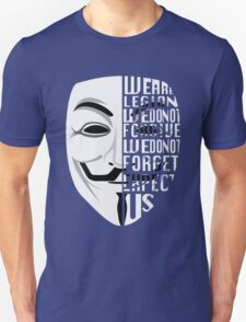 Just My Type: Anonymous Unisex T-Shirt