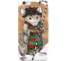 Yuletide Mouse iPhone Case/Skin