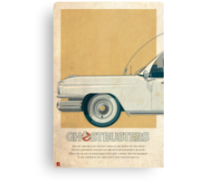 Ecto-1 triptych I of III Canvas Print