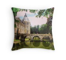 Chateaux in France Throw Pillow