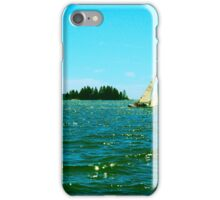Boat and Island iPhone Case/Skin