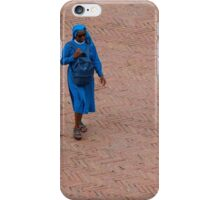 Blue Habit iPhone Case/Skin