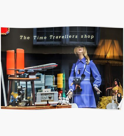 The Time Travellers Shop Poster