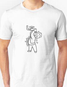 Vault Boy Lead Belly Perk T-Shirt