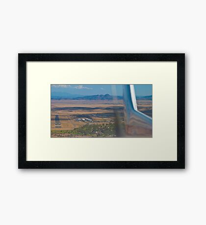 Prescott Air Framed Print