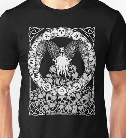 Zombstrology: Aries Unisex T-Shirt