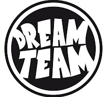 Circle round logo stamp graffiti dream team's frie by Style-O-Mat