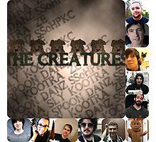 Creature Hub Photo collage  Photographic Print