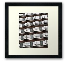 AA111 1960,s Architecture  Framed Print
