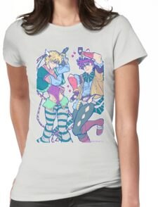 joseph joestar & caesar zeppeli tshirt & phone cases Womens Fitted T-Shirt