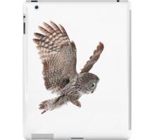 Incoming - Great Grey Owl iPad Case/Skin