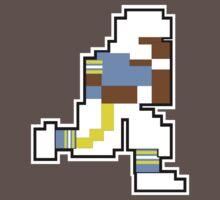 Nintendo Tecmo Bowl San Diego Chargers Powder Blue B by jackandcharlie