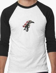 Batman Penguin Men's Baseball ¾ T-Shirt