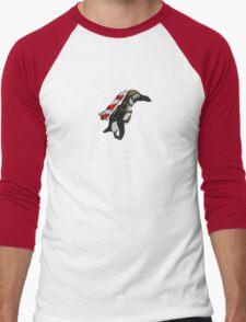 Batman Penguin Men's Baseball ¾ T-Shirt