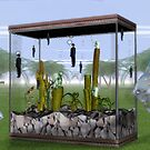 Inverse aquarium  by Lawrence Alfred Powell