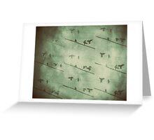 Galah collage III Greeting Card