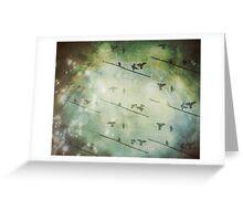 Galah collage IV Greeting Card