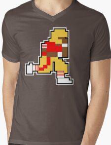 Nintendo Tecmo Bowl San Fransisco 49ers Jerry Rice Mens V-Neck T-Shirt