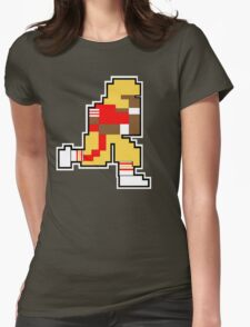 Nintendo Tecmo Bowl San Fransisco 49ers Jerry Rice Womens Fitted T-Shirt