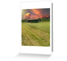 Kentucky Farmland Greeting Card