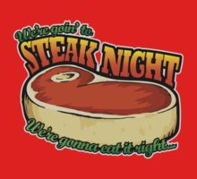 Scrubs - Steak Night Baby Tee