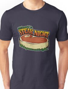 Scrubs - Steak Night Unisex T-Shirt