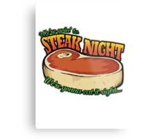 Scrubs - Steak Night Metal Print