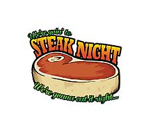 Scrubs - Steak Night Photographic Print