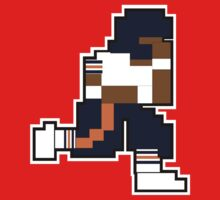 Nintendo Tecmo Bowl Chicago Bears Walter Payton One Piece - Short Sleeve