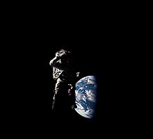 Salute from Space by MeromicticMax