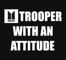 Trooper With an Attitude - White by RoosterSpacecab