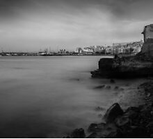 Seascape black and white by kevinkruize