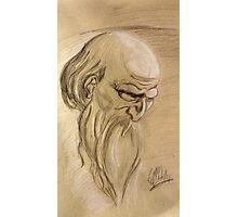 Old Man Study Photographic Print
