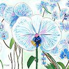 Blue Orchids by zfollweiler