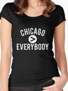 Chicago > Everybody Women's Fitted Scoop T-Shirt