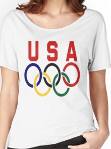 Team USA olympics Women's Relaxed Fit T-Shirt