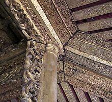 ornate ceiling by Anne Scantlebury