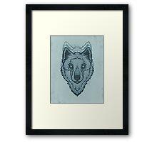 Wolf pack Framed Print