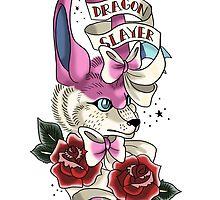 Dragon Slayer by tenaciousbee