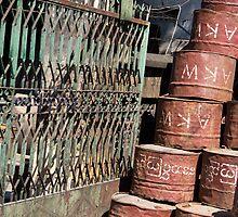 barrels by Anne Scantlebury
