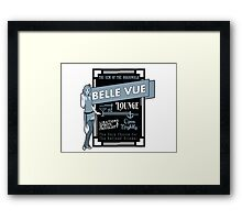 The Belle Vue - A Great Place To Get A Drink Framed Print