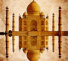 TAJ MAHAL TOMB by Daniel-Hagerman