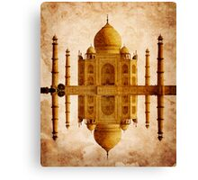 TAJ MAHAL TOMB Canvas Print