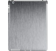 stainless steel texture iPad Case/Skin