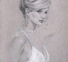 Jennifer Lawrence by artbyivs