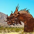 Desert Dragon Emerging! by heatherfriedman