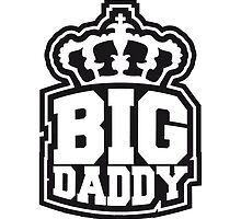 Logo Crown father's day Big Daddy hero dad Vater by Style-O-Mat