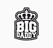 Logo Crown father's day Big Daddy hero dad Vater T-Shirt